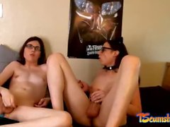 Femboys fuck each other webcam