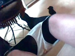 Homemade crossdresser solo