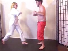 Cadence Lux Karate Kick Feet Beatdown brattyfootgirls