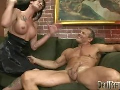 Morgan Bailey Transsexual Babysitters 11