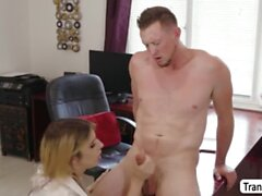 Horny Guy didnt expect to fuck TBabe Casey Kisses in doggystyle