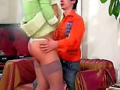 Teen crossdresser fucked by guy