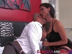 Naughty Latin Ts Jhoany Wilker Gets Assfucked