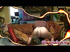 TS Eve In Home Erotic Video
