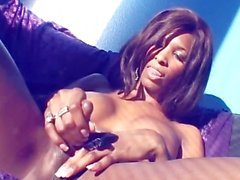 NATASSIA THE BLACK CASTRATED SHEMALE 1 - Scene 3