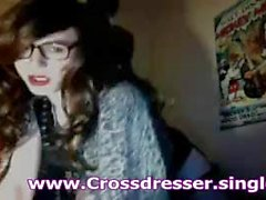 Amateur CD Crossdresser Has Her Ass Fucked By Black Coc
