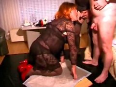 old man with crossdressers daddy drink piss and cum - Pornhu