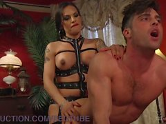 Lance Hart Is Given To TS Foxxy For Punishmen