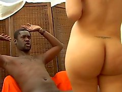 Sexy Shemale Anita loves XXL Black Cock